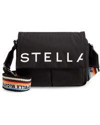 Stella McCartney - Medium Padded Eco Nylon Shoulder Bag - Lyst