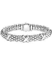 Lagos - 'signature Caviar' Oval Rope Bracelet - Lyst