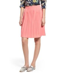 J.Crew | J.crew Pleat Skirt | Lyst