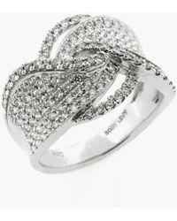 Bony Levy - Weave Diamond Ring (nordstrom Exclusive) - Lyst