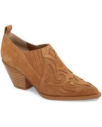Marc Fisher - Charly Western Bootie - Lyst