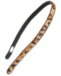 Tasha - Cheetahville Faux Fur Headband - Lyst