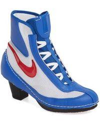 Comme des Garçons - X Nike Heeled Bootie - Lyst