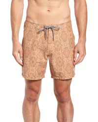 Rhythm - Sorrento Swim Trunks - Lyst