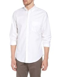 J.Crew | J.crew Slim Fit Stretch Pima Cotton Oxford Shirt | Lyst