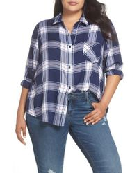 BP. - Plaid Shirt - Lyst
