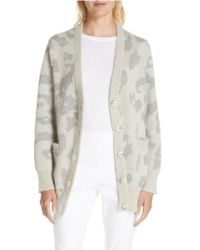 Rag & Bone - Leopard Print Oversize Cardigan - Lyst