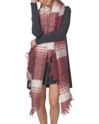 Rip Curl | London Blanket Scarf | Lyst