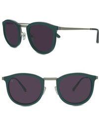 Smoke X Mirrors - Shout 49mm Retro Sunglasses - Lyst