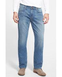 PAIGE - 'normandie' Straight Leg Jeans - Lyst