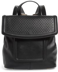 Sole Society - Faux Leather Backpack - Lyst