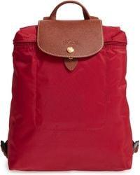 bfa6bfe842e0 Longchamp -  le Pliage  Backpack - Lyst