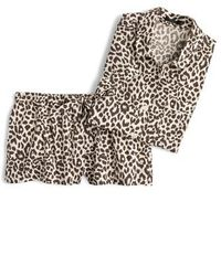 J.Crew | J.crew Leopard Print Pyjamas | Lyst
