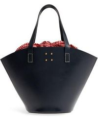 Trademark - Large Leather Bucket Bag - Lyst