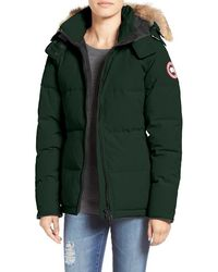 Canada Goose womens online authentic - Canada goose 'kensington' Slim Fit Down Parka With Genuine Coyote ...