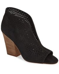 Vince Camuto - Kainan Open Toe Bootie - Lyst