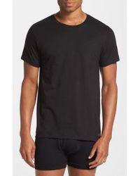 Calvin Klein   2-pack Cotton T-shirt, Black   Lyst