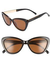 Privé Revaux - The Hepburn 56mm Cat Eye Sunglasses - Tort/ Black - Lyst