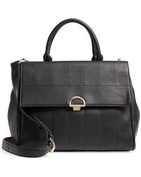 Sole Society - Tracy Quilted Faux Leather Satchel - - Lyst