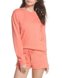 Make + Model - Take It Easy Lounge Sweatshirt - Lyst