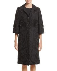 Naeem Khan - Embellished Silk Evening Coat - Lyst
