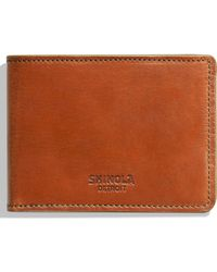 Shinola Harness Slim 2.0 Bifold Leather Wallet