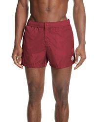 Moncler - Boxer Mare Swim Shorts - Lyst