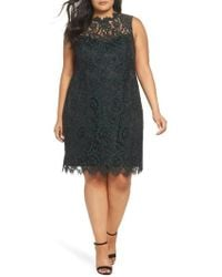 Eliza J - Lace Sheath Dress - Lyst