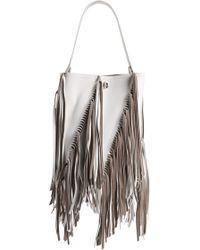 Proenza Schouler - Medium Hex Fringe Calfskin Leather Bucket Bag - - Lyst