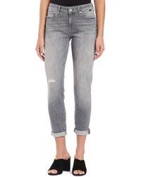 Mavi Jeans - Ada Distressed Skinny Jeans - Lyst