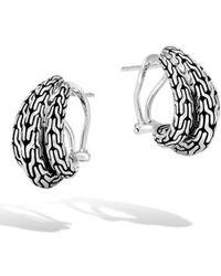 John Hardy - Classic Chain Buddha Belly Earrings - Lyst