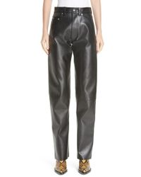 Kwaidan Editions - Faux Leather Moto Pants - Lyst