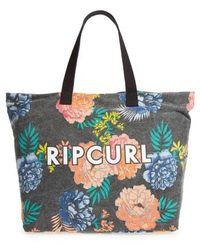 Rip Curl - Delilah Floral Print Beach Tote - Lyst