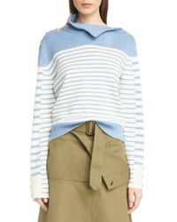 JW Anderson - Multi Button Turtleneck Sweater - Lyst