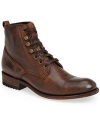 Sendra - 'station' Cap Toe Boot - Lyst
