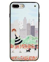 Kate Spade - Jeweled Shopper Iphone 7/8 & 7/8 Plus Case - Lyst