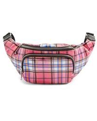 TOPSHOP - Callie Check Belt Bag - - Lyst