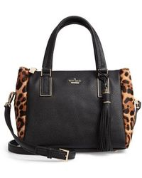 Kate Spade - Small Kingston Drive - Alena Genuine Calf Hair & Leather Satchel - Lyst