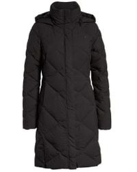 The North Face - Miss Metro Ii Water Repellent 550 Fill Power Down Hooded Parka - Lyst