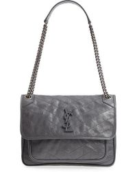 Saint Laurent - Medium Niki Leather Shoulder Bag - Lyst