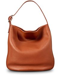 Shinola - Birdy Grained Leather Hobo Bag - Lyst