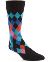 Bugatchi - Cotton Blend Socks - Lyst