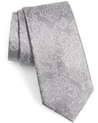 Calibrate - Dunsford Paisley Silk Blend Tie - Lyst
