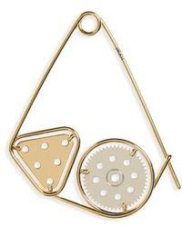 Loewe - 'meccano' Double Pin Bag Charm - Metallic - Lyst
