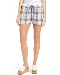Caslon - Caslon Linen Shorts - Lyst