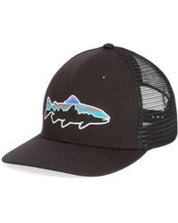 Patagonia - 'fitz Roy - Trout' Trucker Hat - - Lyst
