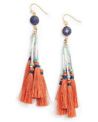Nakamol - Tassel Drop Earrings - Lyst