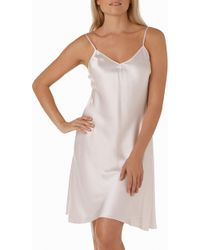 The White Company - Silk Nightgown - Lyst