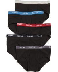 Calvin Klein - Classic 5-pack Cotton Briefs - Lyst