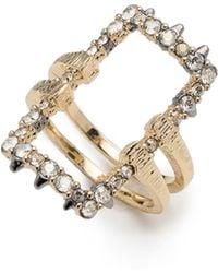 Alexis Bittar - Elements Crystal Encrusted Ring - Lyst